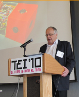 John speaking at TEI 2010